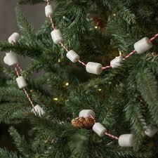 6 u0027 marshmallow christmas garland g3716159 craftoutlet com