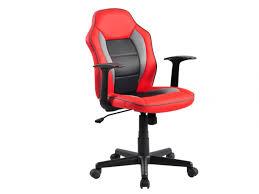 fauteuil de bureau noir fauteuil de bureau racer simili hauteur réglable