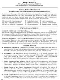 software qa manager resume sample resume for study