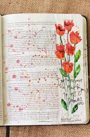 jean 14 may watercolor illustrated faith pen bible