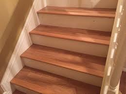 How To Install Laminate Flooring On Stairs With Stair Nose Stair Nose Moulding Repair Home Fixed