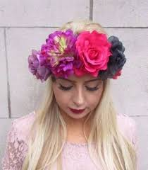 big flower headbands headbands turbans hair accessories accessories