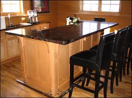 Kitchen Furniture Set Kitchen Design Amazing Endearing Set Of Black Stained Wooden