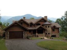 luxury log cabin plans luxury log home estate tusquittee mountains western north uber