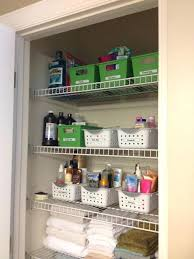 organized bathroom ideas bathroom closet organization bathroom closet ideas pictures