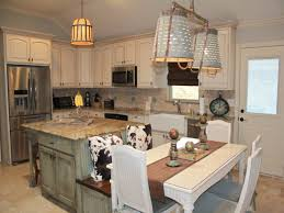 stylish and peaceful kitchen island with bench seating nice design