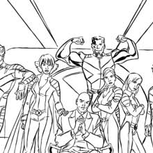 jean grey coloring pages hellokids