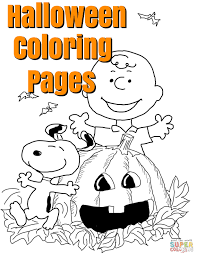 Happy Halloween Coloring Page by Free Greeting Cards Coloring Pages Recipes
