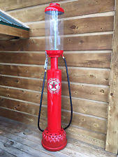 antique gas station lights for sale visible gas pump ebay