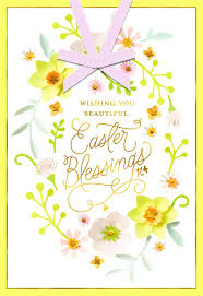 religious easter greeting card messages content beautiful blessings