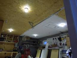 grid dc solar electric garage lighting wired and