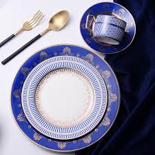 top grade bone china tableware home restaurant dinner service