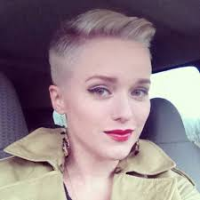 butch haircuts for women pretty shaved sides hair pinterest pixies short hair and