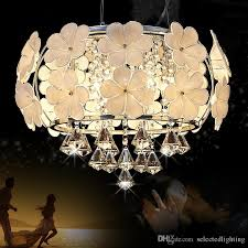 Crystal Drum Shade Chandelier 2016 Led Fashion Modern Crystal Light K9 Lights Glass Crystal