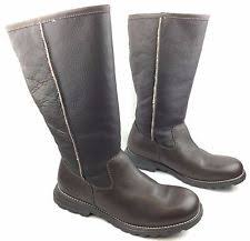 s ugg australia black zea boots ugg australia s boots waterproof leather 1008210 w
