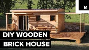 diy wooden brick house youtube