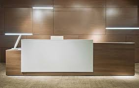 High End Reception Desks Modern Office Furniture Reception Desk Interior Design Ideas