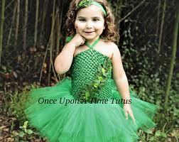 Green Tutu Halloween Costume Green Leaf Tutu Etsy