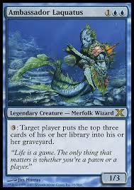 laquatus mono u wizard mill edh commander deckstats net