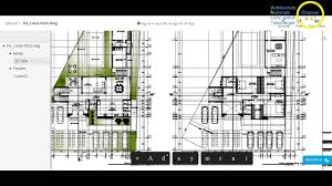 maison d u0027habitation autocad dwg youtube