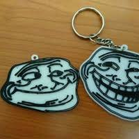Meme Keychains - 3d printed spotify keychains by jeremy stenseth pinshape