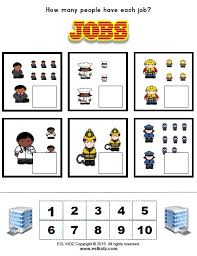 jobs activities games and worksheets for kids