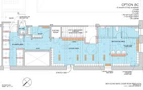 locker room floor plan r e a l beth elohim