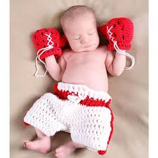 baby photography props baby photography clothing infant crochet boxing newborn