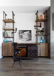 Industrial Pipe Bookcase Industrial Pipe Shelving Home Office Industrial With Bookcase