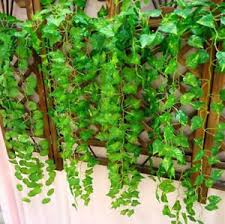 ivy home decor garland artificial ivy leaf plants vine fake foliage flowers home