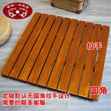 Bath Mat Wood Usd 19 22 Jinjie Xiaowangzi Shower Floors Solid Wood Bath Mat