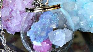 crystals crafty science crystal ball jewelry with diy borax crystals make
