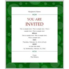 10 best images of business party invitation template elegant