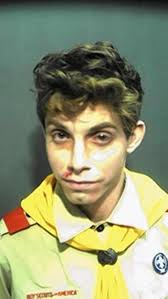 boys police officer halloween costume fla man in boy scout costume booked for resisting an officer ny