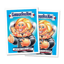 kid cards garbage pail kids releases nine new presidential candidate cards
