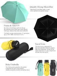 travel umbrella images Hoke 8 rib mini compact pocket umbrella windproof jpg