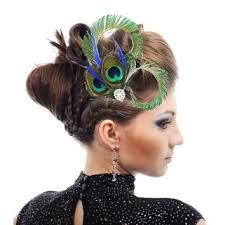 hair fascinators best peacock hair fascinators products on wanelo