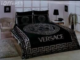 Versace Comforter Sets Classic Vogue Lv Bedding Set Satin Sheets 4 Piece Set For Sale At