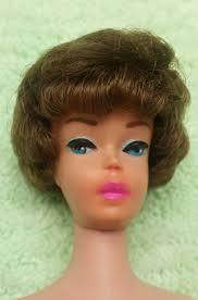 how to cut a bubble cut hair style vintage 1961 barbie bubble cut genuine ultra rare sable brownette