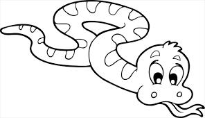 coloriage de serpent a imprimer dessincoloriage
