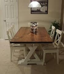 Ponad  Najlepszych Pomysłów Na Pintereście Na Temat Tablicy - Trestle kitchen tables