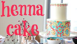 henna inspired buttercream cake tutorial cake style youtube