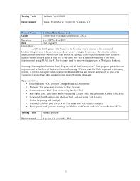 Testing Profile Resume 9 Yrs Manual And Selenium Testing Profile