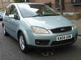 ford focus c max 1 6 tdci zetec 2004 04 reg met green 5 door 5