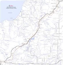 Michigan Road Map by Bill Nicholls Atv Orv Ohv Motorcycle Off Road Trail Map Houghton
