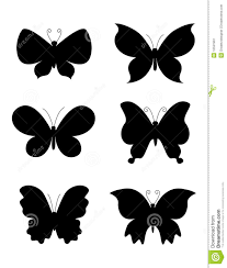 butterfly butterflies silhouette stock image image 12531991