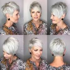 stylish cuts for gray hair 80 best modern haircuts and hairstyles for women over 50 pixie