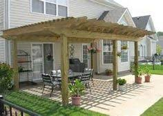 deck with pergola need help building this deck already done