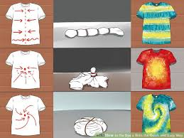 4 ways to tie dye a shirt the quick and easy way wikihow