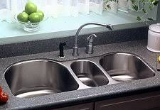 Elkay Sinks What They Have To Offer - Triple sink kitchen